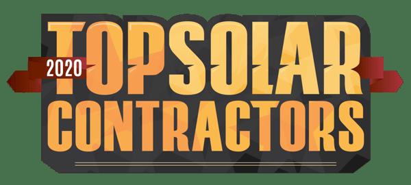 2020 TOP SOLAR CONTRACTORS LOGO