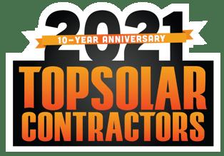 Solar Power World Top Solar Contractor Award