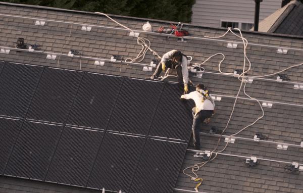 solar install video snip